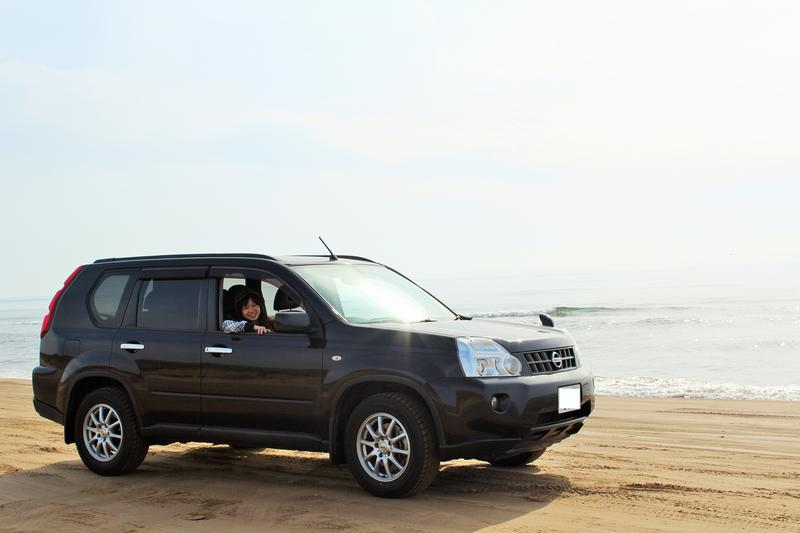 X-trail on the Beach