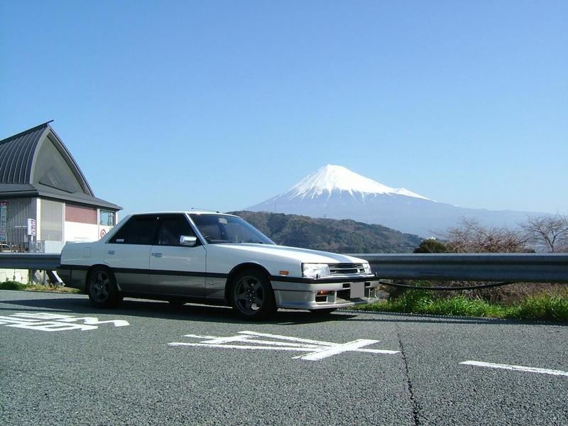 Mt・FUJI × DR30・SKYLINE