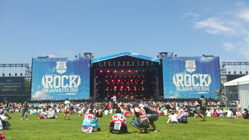 ROCK IN JAPAN FES. 2014